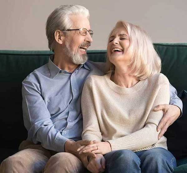 Dentures and partial dentures Phoenix couple